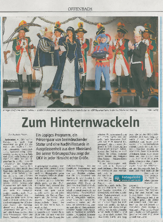 24.01.2011 Offenbach Post
