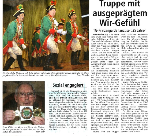 20.01.2011 Offenbach Post